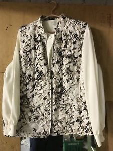 Vest and blouse