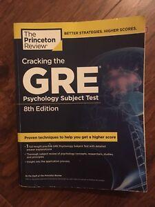 Princeton Review GRE Psychology study book