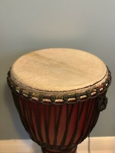 Djembe Pro Hand Made Hand Drum and Case