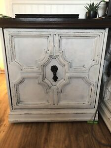 Distressed dresser and night stands