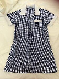 2 x School blue check summer dress size 6 Ashburton Boroondara Area Preview