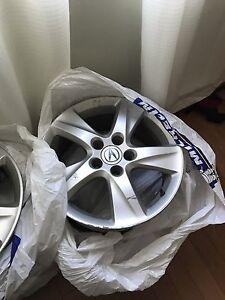 5 Acura TSX 17 inch rims