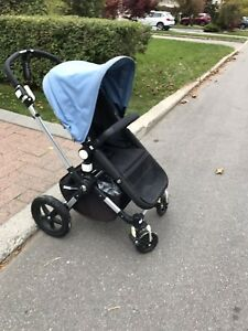 Bugaboo Cameleon 3 with bassinet and extra chassis