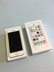 Silver 16GB iPhone 5S - unlocked and in excellent working condition Mount Annan Camden Area Preview
