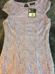 Pretty Lilac lace dress Size 10