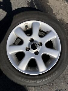 4 lower profile tires with ALLOY RIMS - were on Honda CIVIC CX