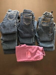 Bundle of 11 Pairs of Girls Pants Size 4T