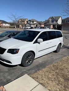Fully Loaded White 2015 Town & Country