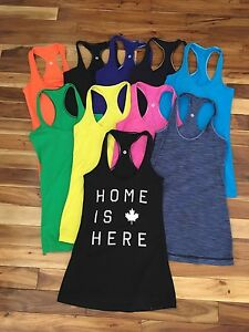 Size 4 Lululemon Cool Racerback Tanks