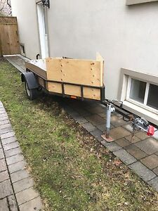Motorcycle / Utility Trailer