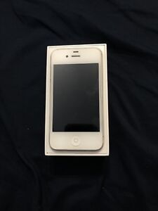 Unlocked iPhone 4 with box and accessories