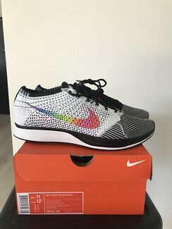 "Nike flyknit racer ""be true"" US11"