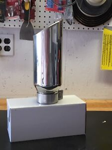 GMC stainless exhaust tip