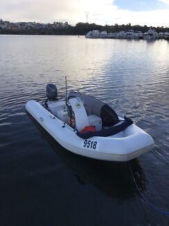 """URGENT SALE"" Sea walker 4.75m RIB inflatable"