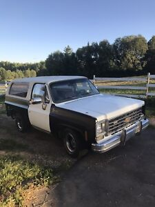 1975 K5 2WD Blazer full convertible project
