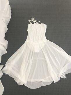 Ballet white dance costume