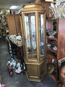Small Gold Display cabinet