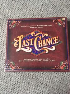 SEALED 1995 Last Chance Board game