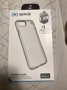 Speck clear case for iphone 7