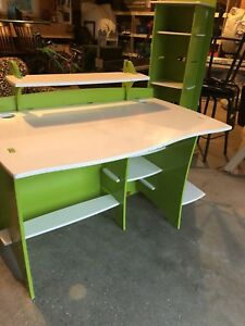 Kids desk with matching bookcase