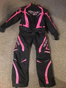 FXR snowmobile jacket and pants