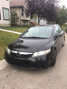 ***reduced*** Honda Civic 2009 5,400$