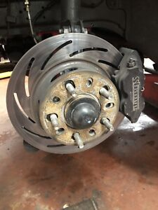 Mustang front brakes