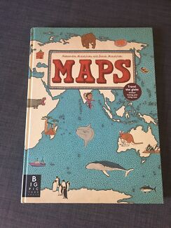 New childrens illustrated atlas with world map poster included childrens mapatlas book gumiabroncs Choice Image