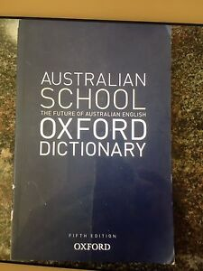 Australian oxford dictionary Fifth edition Seabrook Hobsons Bay Area Preview