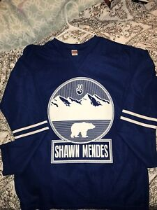 Shawn Mendes Hockey Jersey
