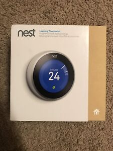 NEST THERMOSTAT 3RD GENERATION BRAND NEW OPEN BOX-ONLY $200