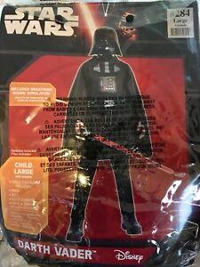 Darth Vader Costume (Child size Large)
