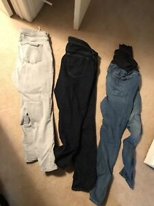 Old Navy maternity pants size 14 $40 for the lot OBO