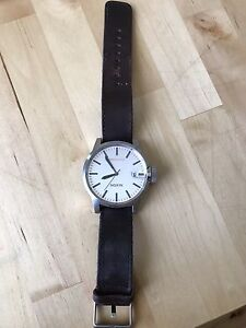 Nicely used Nixon Leather Watch