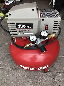 Porter Cable Air Compressor - 150PSI
