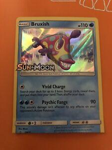Bruxish Miscut carte Pokémon!