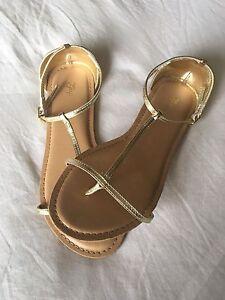 Gold Strappy GAP Girls Sandals