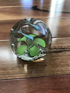 Glass Paper Weight Beaconsfield Fremantle Area Preview