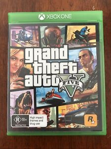 Grand Theft Auto 5 Xbox one game