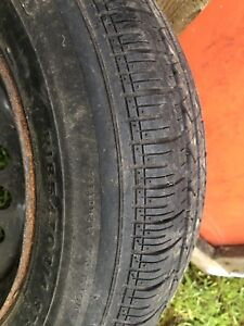 One 185/70r/14 tire