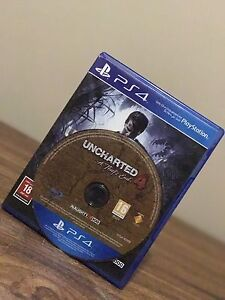 UNCHARTED 4 A Thief End   PS4