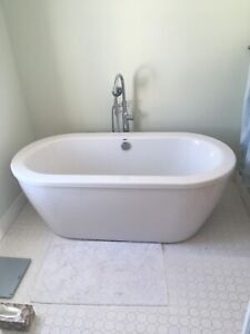 Free Standing Tub & Faucet
