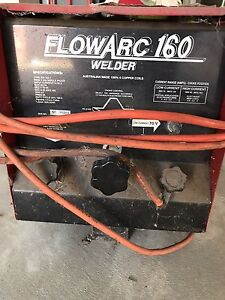 FLOWARC 160 Amp Welder Sale Wellington Area Preview