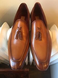 NIB and authentic Paul Parkman tassel loafers size 12 (euro 45)