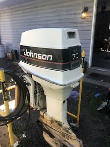 1989 Johnson 70hp