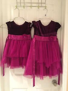 Girls Party dresses -sizes 3 & 5 *in excellent condition*