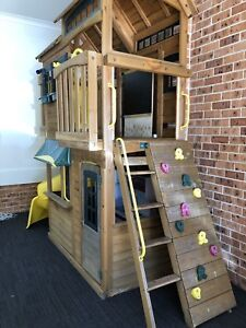 Cedar Summit Cubby House (with Swings) Mount Riverview Blue Mountains Preview