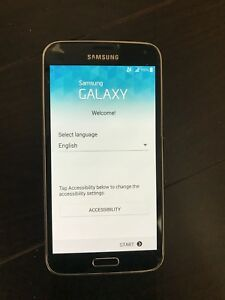 Galaxy S5 with otter box 16 GB
