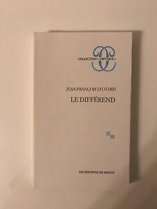 Lyotard , Le différend