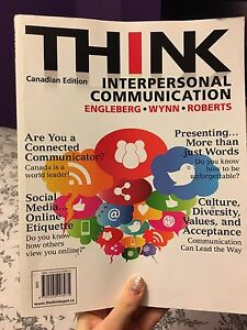 THINK INTERPERSONAL COMMUNICATION TEXTBOOK